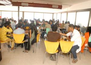 bpo companies in india cafeteria